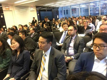 5月30日200位紐約法律屆人士參加了亞裔律師協會的研討會。
