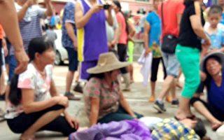广东数百村民抗议建光伏项目 遭武警暴打