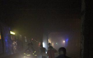 A线地铁急刹车致脱轨 34人受伤
