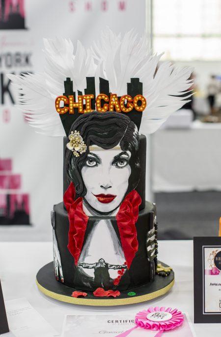 《芝加哥》造型蛋糕。