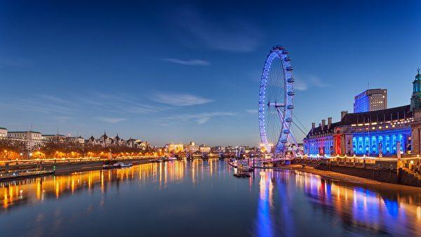 英國擁有良好的職業和個人發展前景。圖為倫敦眼。(Unsplash/CC/Pixabay)