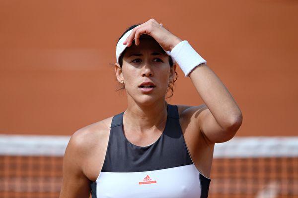 法網女單爆冷 衛冕冠軍穆古露莎16強止步