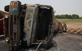 巴基斯坦油罐车爆炸 至少135人死