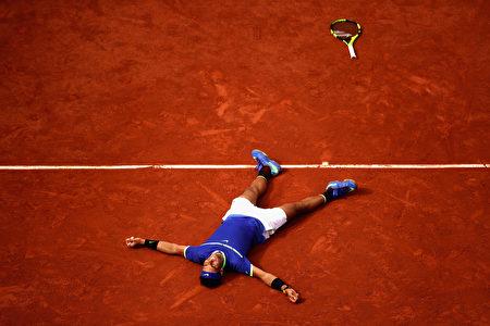 納達爾成功走出傷病困擾,奪得第15個大滿貫冠軍。 (Julian Finney/Getty Images)