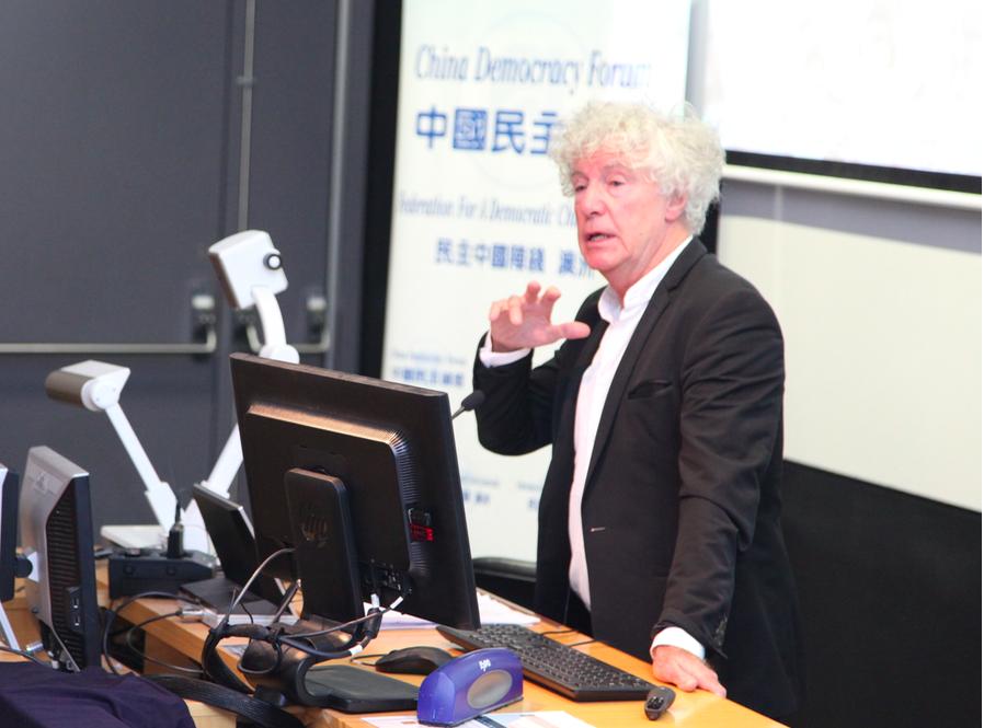 悉尼民主網絡的John Keane教授建議,建立諸如真相和解委員會。(駱亞/大紀元)