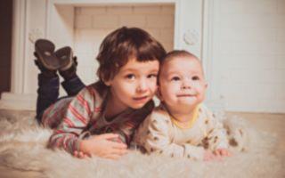 美3岁哥哥照顾1岁弟弟 网友直呼:太可爱