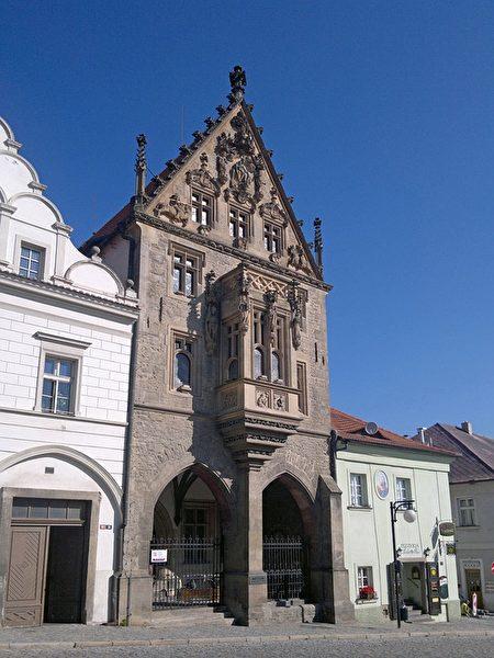 捷克庫特納霍拉小鎮上的哥德式建築。(Pixabay )