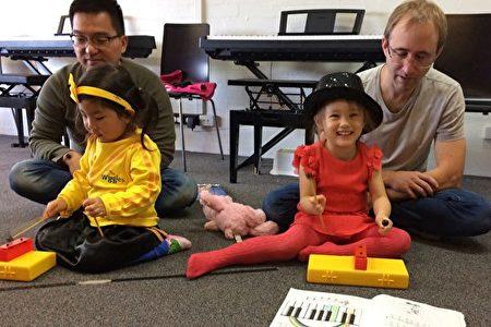 音樂是美妙的,寓教於樂才能使孩子堅持不懈。(Forte音樂學校提供)