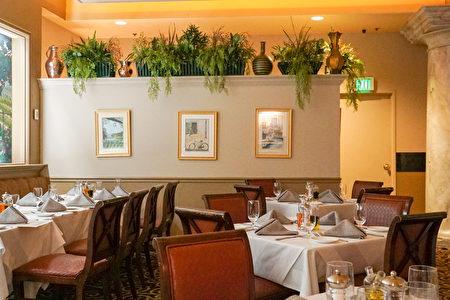 位於Eldorado賭場內的La Strada餐廳讓人感覺置身意大利。(攝影:李旭生/大紀元)