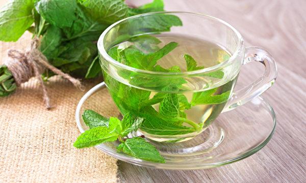 新鲜薄荷茶。(Kotkot32/Shutterstock)