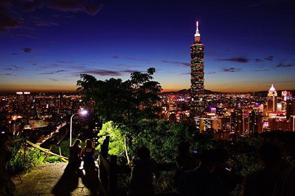 從遠處望台北101。(pixabay)