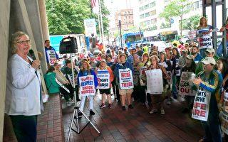 塔醫不讓進 護士繼續罷工 政要支持