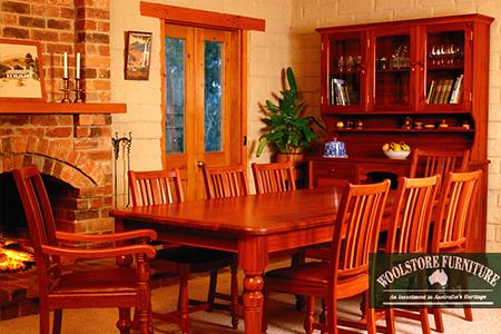 澳洲实木家具。(Woolstore Furniture提供)