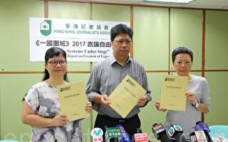 逾三成半媒体染红 香港传媒自我审查恶化