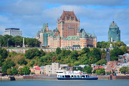 魁北克城盡顯法蘭西風情。(Fotolia)