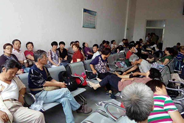 求助央視曝光問題 逾80上海訪民被送久敬莊