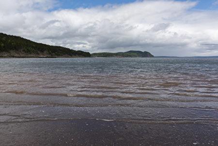 S芬迪湾是观看大潮汐的最理想之处。(Fotolia)