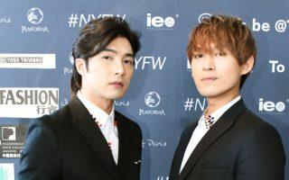 纽约男装周 华裔发型师推出时装系列