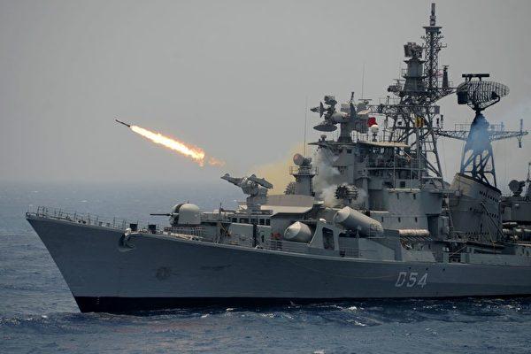 印度將派四艘軍艦進入南海 猛踩中共紅線