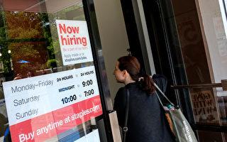 美6月增22.2萬工作 超乎預期 美股應聲上漲