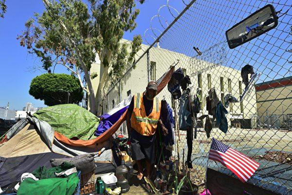 洛杉矶无家可归者越来越多 为什么?