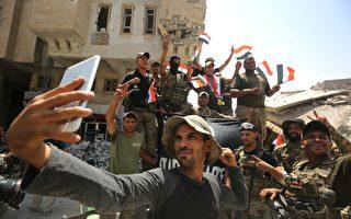 伊总理宣布摩苏尔战役胜利 IS分子跳河逃命