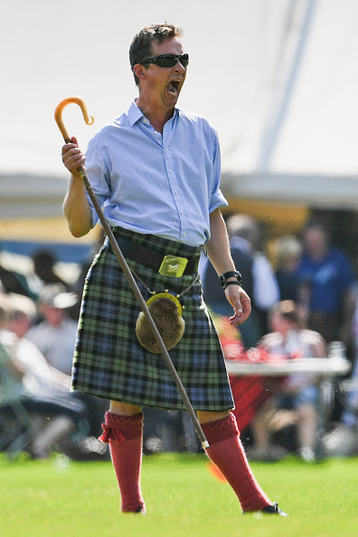 INVERARAY, SCOTLAND - JULY 18: Torquhil Campbell, the 13th Duke of Argyll, attends the Inveraray Highland Games on July 18, 2017 in Inverarary, Scotland. The Games celebrate Scottish culture and heritage with field and track events, piping, highland dancing competitions and heavy events including the world championships for tossing the caber. (Photo by Jeff J Mitchell/Getty Images)