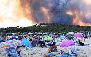 法国森林大火 烧掉约270座大安森林公园