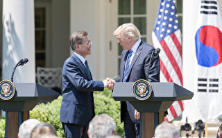 川普忧贸易逆差 美韩开始重谈贸易协定