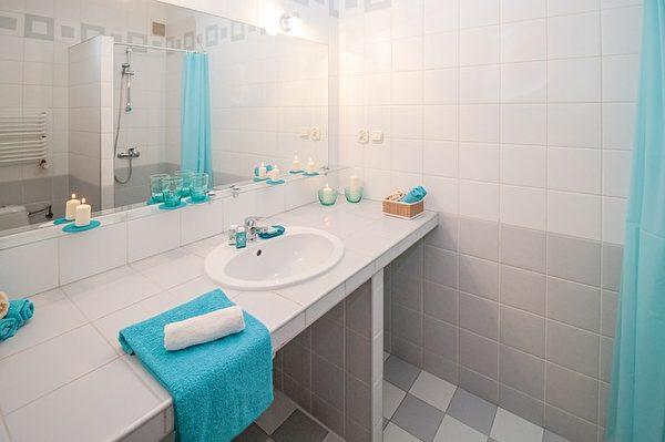 保持浴室的清洁,7个妙招让您干得又快又好!(Pixabay)