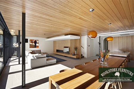 Hawthorn私人豪宅家具定制。(Woolstore Furniture提供)