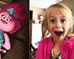 美五岁女娃玩抽奖 屡试屡败终获珍贵惊喜