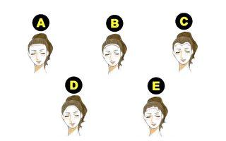 小測試:髮際線超準暴露你的脾氣與性格