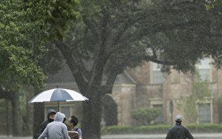 洪水袭击德州 美国石油业保险业及旅游等受冲