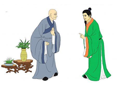 苏轼与佛印。(大纪元资料库)