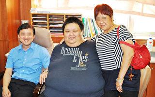 聽媽媽的話 胖男減重165公斤變帥哥