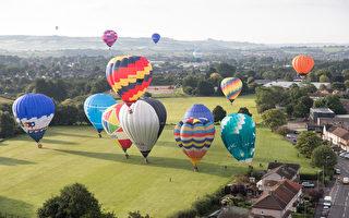 組圖:歐洲最大熱氣球嘉年華繽紛登場