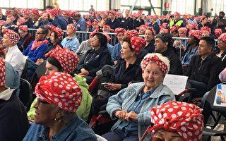 上千女性匯聚Richmond  喬妝「女子鉚釘工」