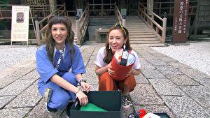 《閨蜜愛旅行》魏如昀與Sandy準備到深山中挑戰露營野炊。(TVBS提供)