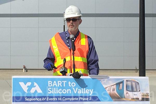 湾区捷运BART明年6月到硅谷 连接VTA加州火车