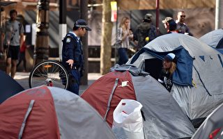 警方獲授權 可強行清理悉尼市「帳篷城」
