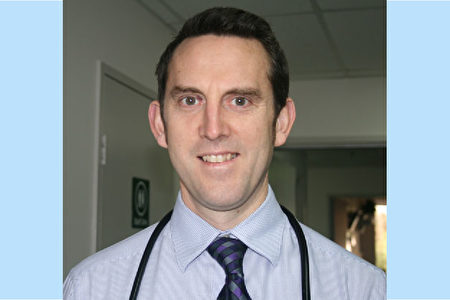 DR CHRISTOPHER BAGULEY。(Frankston圣若望康复医院提供)