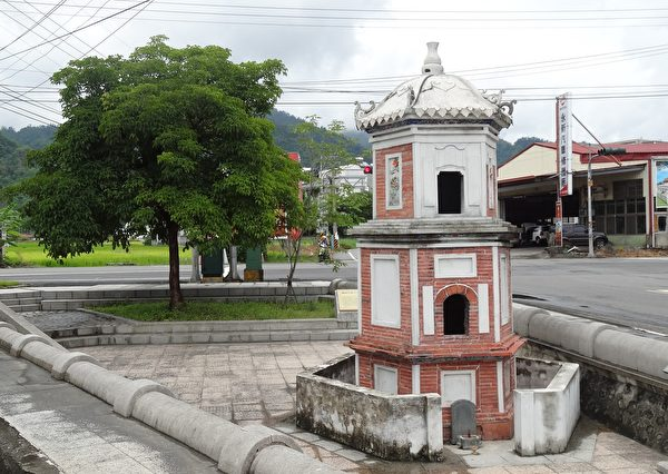 「瀰濃庄敬字亭」是台灣少數立碑供奉倉頡神位的國定古蹟。(曾晏均/大紀元)