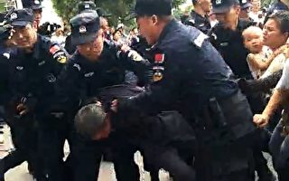 河南鄧州數百學生家長抗議政府遭警鎮壓
