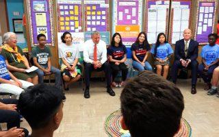 推品德教育 纽约学校创最安全学年