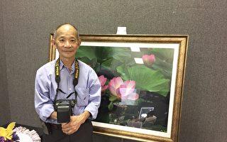 摄影家韩国民谈荷花摄影