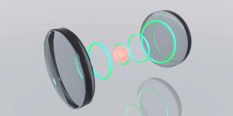科大物理學家成功調控光子形狀,創造光腔裝載效率最高紀錄。(香港科技大學提供)