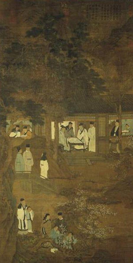《宋人洛阳耆英会图》,现藏台北故宫博物院。(公有领域)