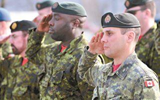 加拿大是西方發達國家中目前唯一擁有單一軍種來取代海、陸、空三軍的國家。(法新社)