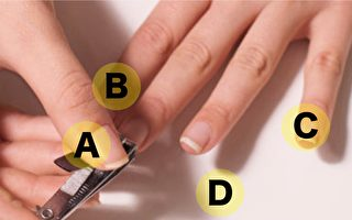 小測試:剪指甲先剪哪個 看你性格與脾氣